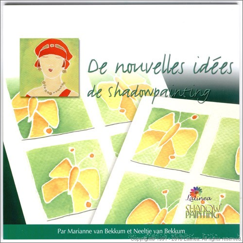 LL9990 New Ideas with Shadowpainting; Only available in French