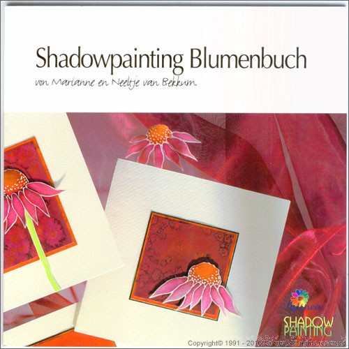 LL9997 Shadowpainting Flowers Book (German version)