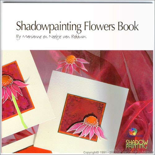 LL9998 Shadowpainting Flowers Book (English version)