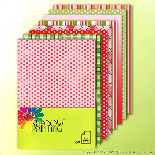 SP0617 Dessin Christmas A4 (red/green)