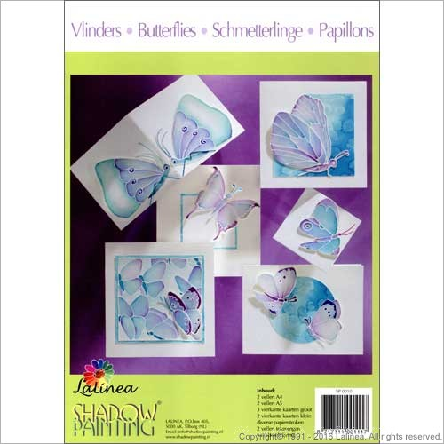 BSP0010 Bundleset for Paper: Set Butterflies Bundle