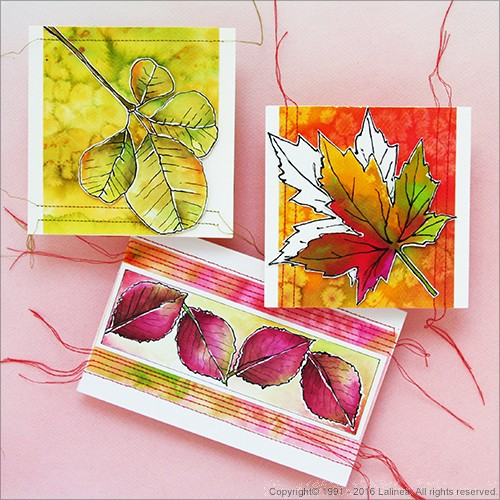 SP0639 Autumn cards set