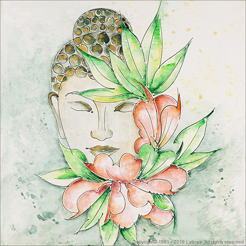 SP0654 Setje voor Canvas: Buddha