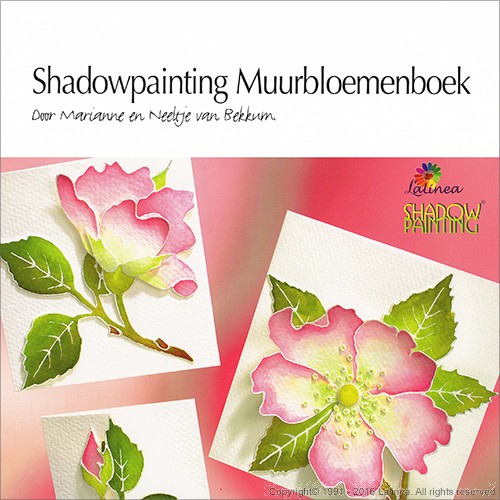 DL9980 Shadowpainting Muurbloemenboek (downloadproduct)