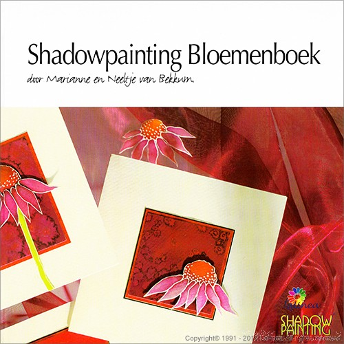 DL9998 Shadowpainting Bloemenboek (downloadproduct)