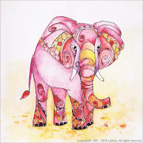 SP0647 Set for canvas: Elephant