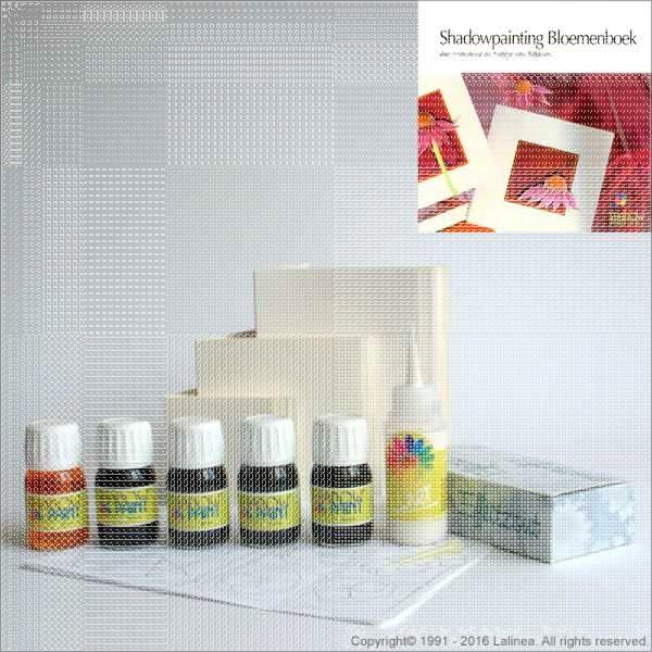 SP0206 Starterset Shadowpainting + Shadowpainting Flowerbook