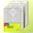 SP0629 Dessin Kraftpaper Black White A3