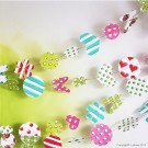 SP0634 Set for making a paper garland 5,5 - 6m