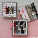 BSP0635 Bundleset Rudolf Christmas cards