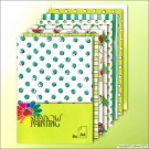 SP0608 Dessin blue/green 8 sheets A4