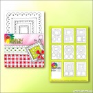 SP0611 Blackprint frames 9 sheets A5