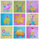 BSP0455 Bundleset for Canvas: Children's Drawings Bundle