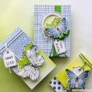 SP0643 Set for making 5 different Butterfly Cards