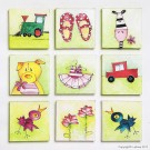 SP0648 Set for canvas: Children's set Boys and Girls