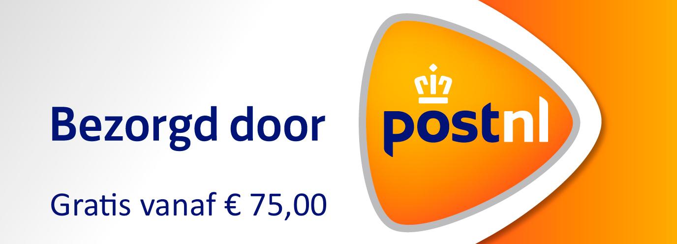 Gratis verzending vanaf € 75,-